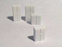images de magnets de plan d'implantation 3D d'armoires basses et d'armoires hautes