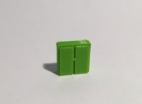 Magnet armoire basse large verte
