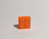 Magnet armoire basse large orange