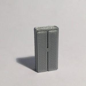 Magnet armoire haute étroite grise