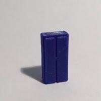 Magnet armoire haute étroite bleue