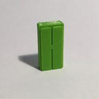 Magnet armoire haute étroite verte