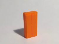 Magnet armoire haute étroite orange