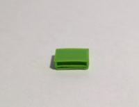 table basse rectangulaire verte