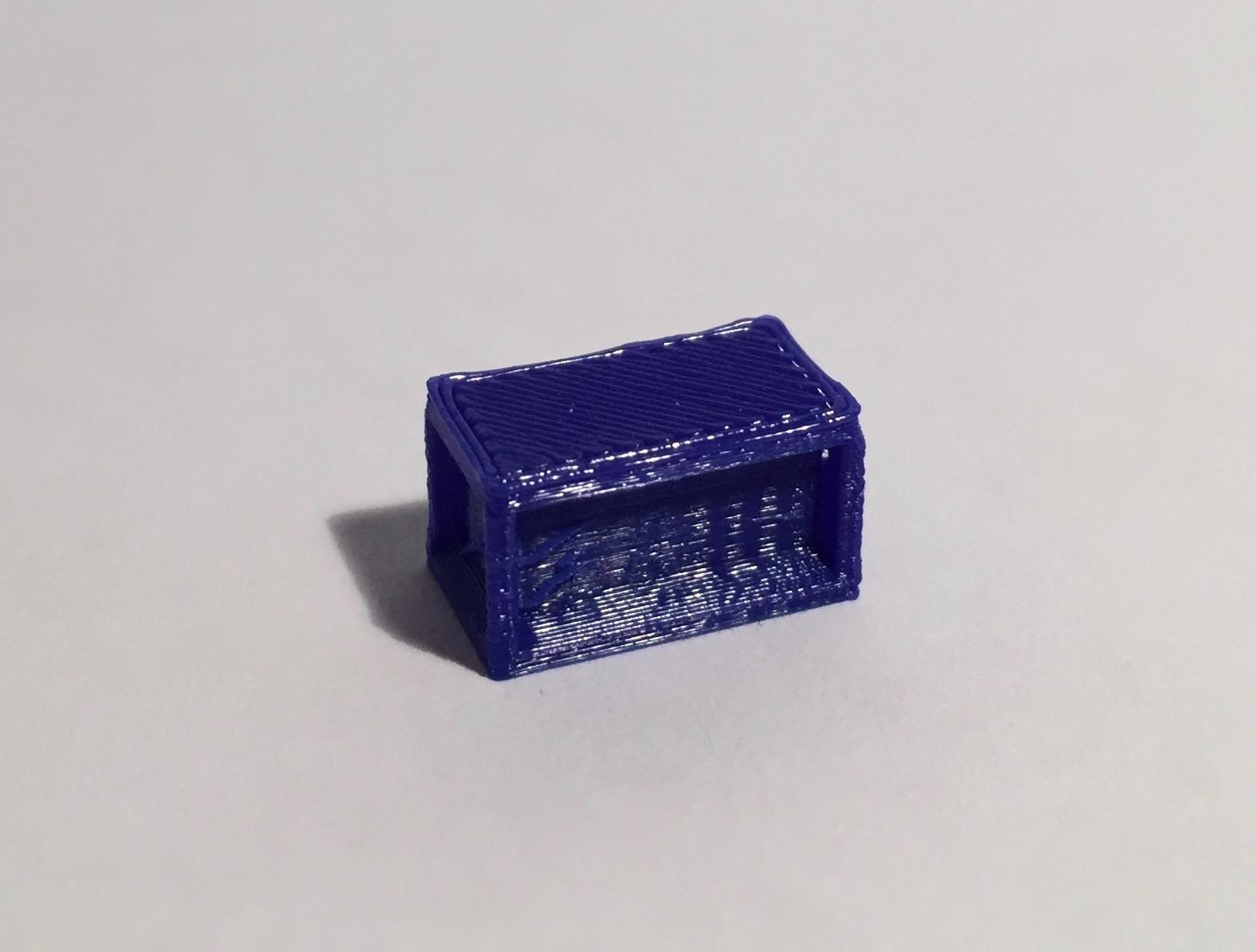 bureau droit 160 bleu