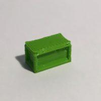 bureau droit 160 vert
