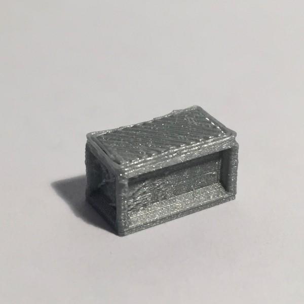 bureau droit 160 gris