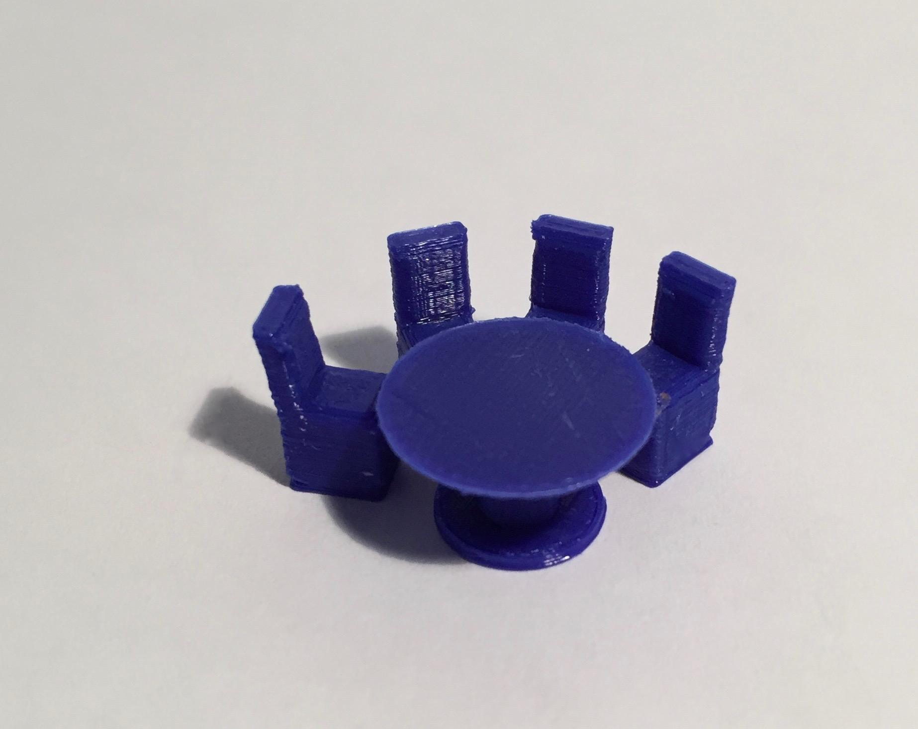 Chaise magnet maquette magn tique implantation 3d for Chaise d implantation