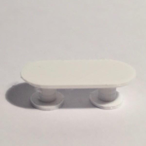 table de réunion blanche