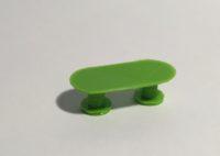 table de réunion verte