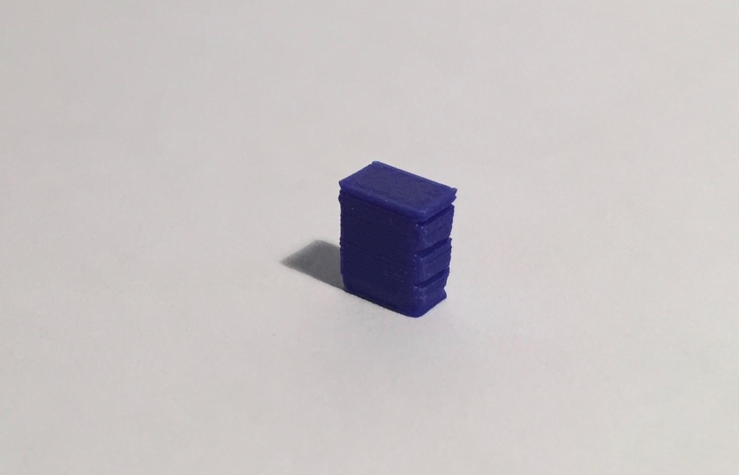 bloc tiroirs bleu