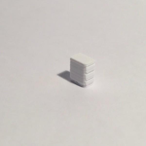 bloc tiroirs blanc