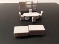 Zone de réunion pour plan d'implantation imprimé en 3D