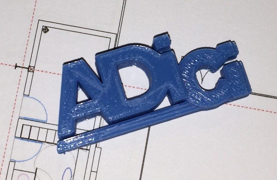 magnet personnalisé logo