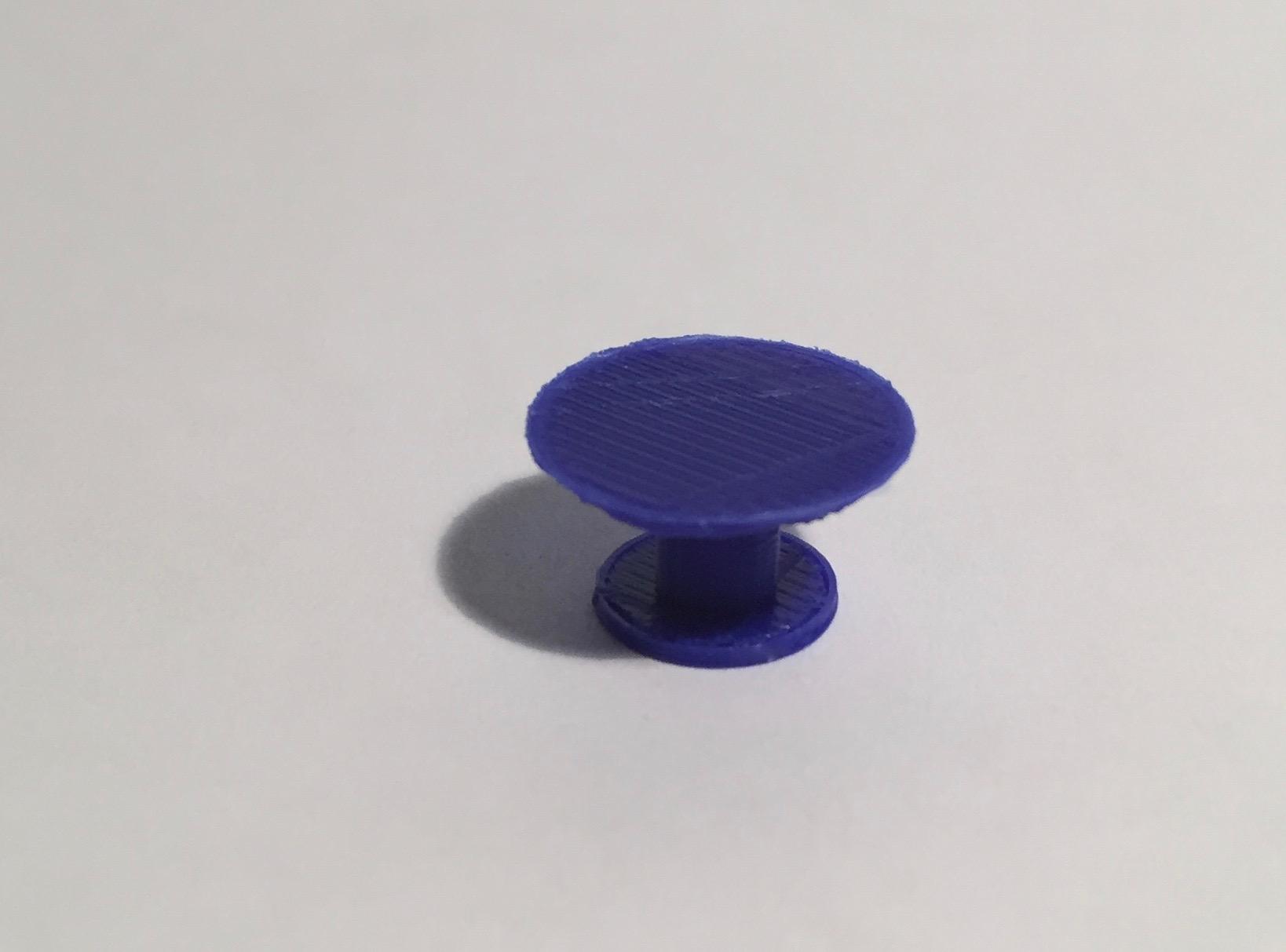 table ronde diamètre 120 bleue