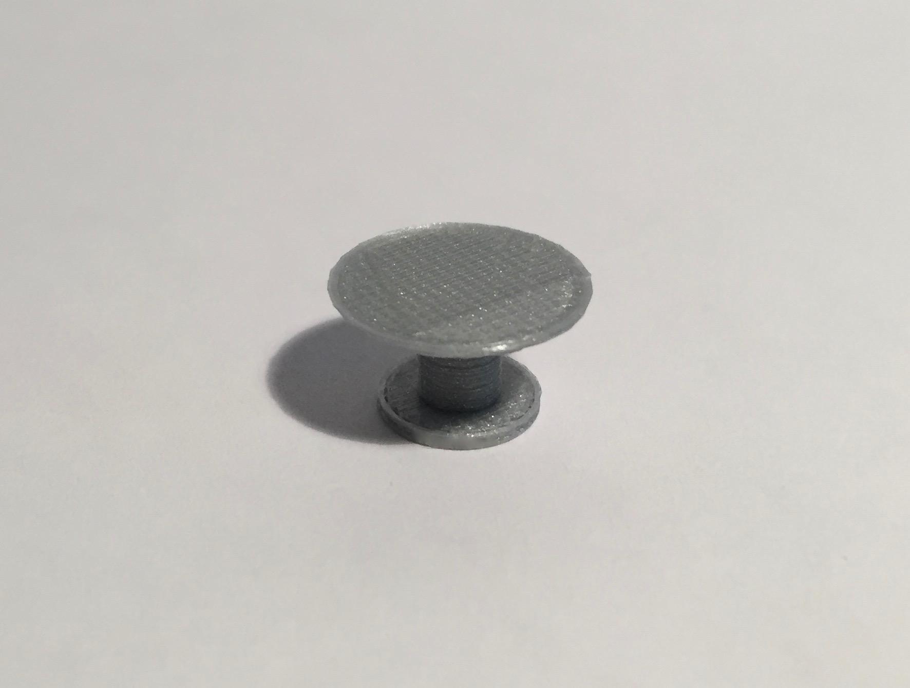 table ronde diamètre 120 grise